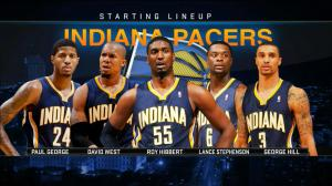 Pacers Starters Shot